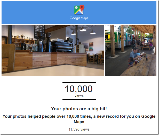 Your photos reached a new record on Google