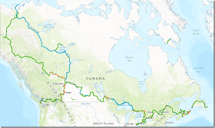 Explore the Map   The Great Trail